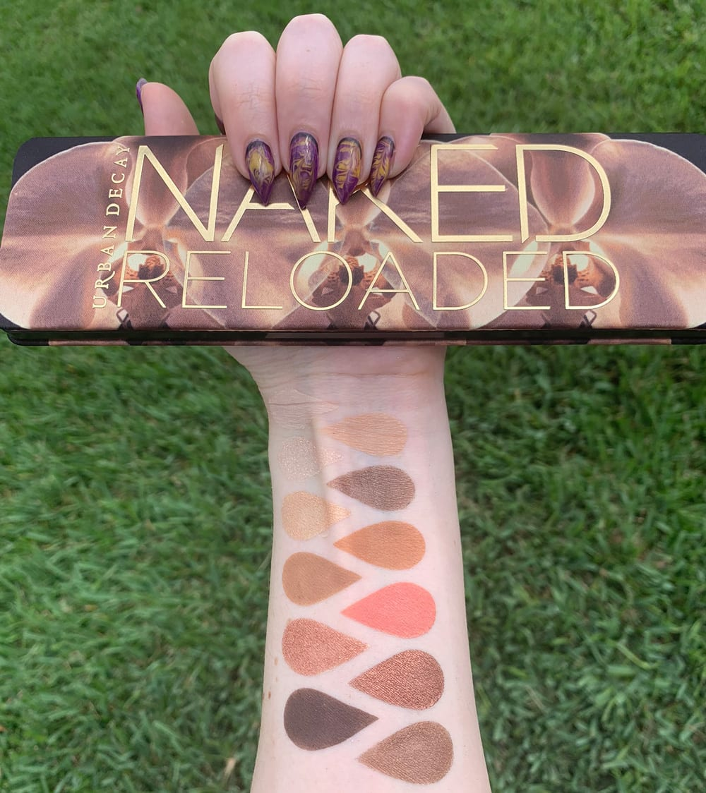 Urban Decay Naked Flushed Palette   Review and Swatches