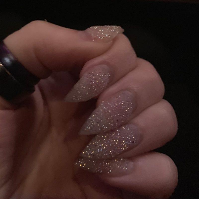 Fake Nails - a hard gel manicure