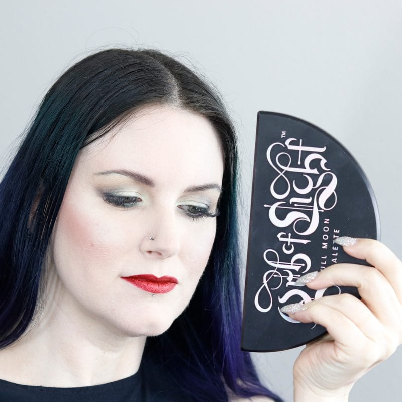 Courtney used the Black Moon Cosmetics Orb of Light Palette to help create this look