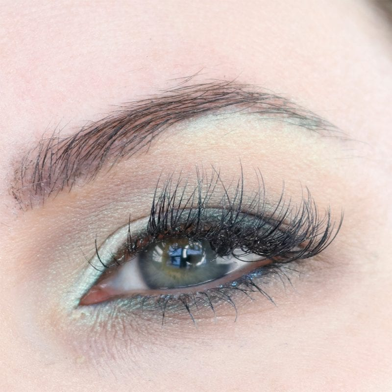 Green Makeup for Hooded Eyes