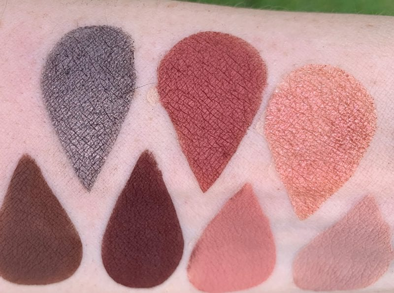Urban Decay Shortcut Special Shimmer Shades swatched