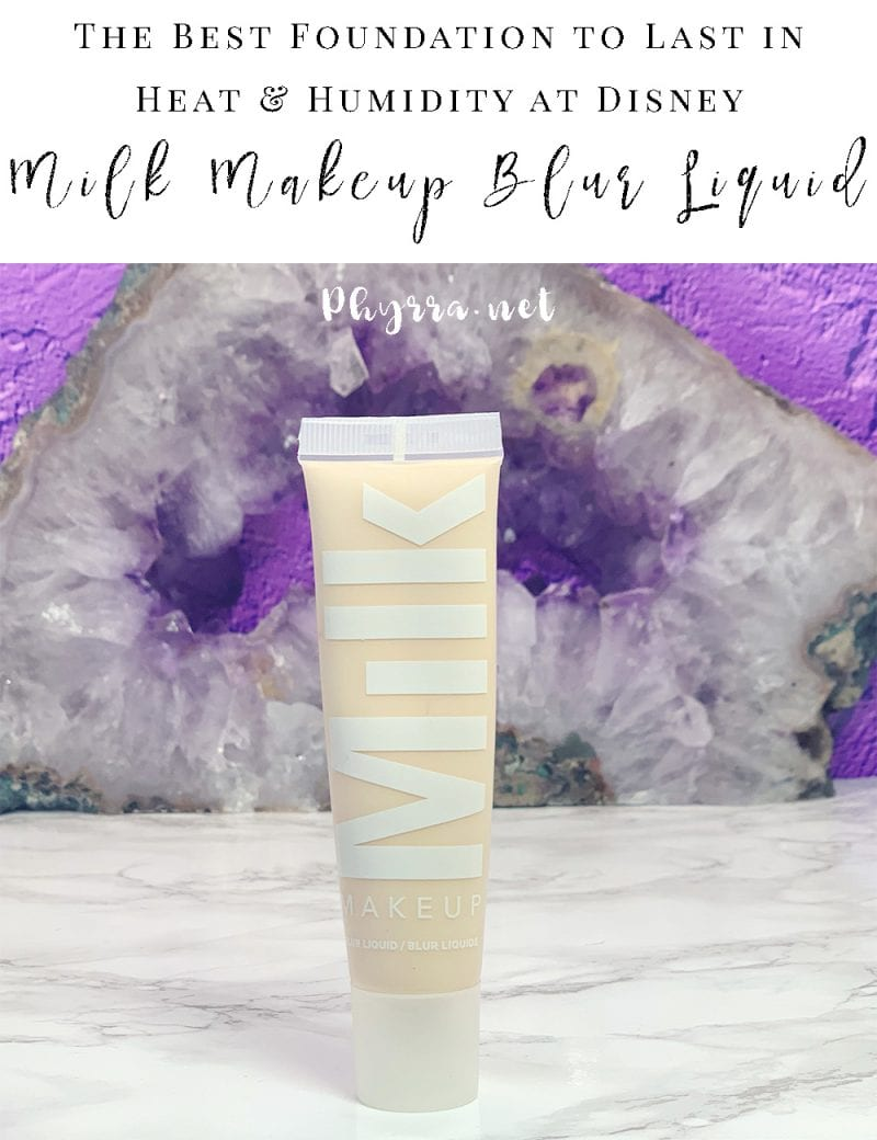 Milk Makeup Blur Liquid Matte Foundation Review - The Best Foundation for Summer