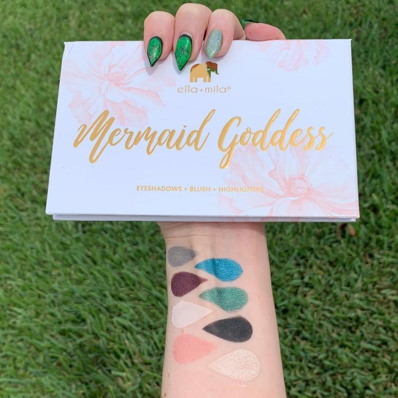 Ella + Mila Mermaid Goddess Palette Swatches