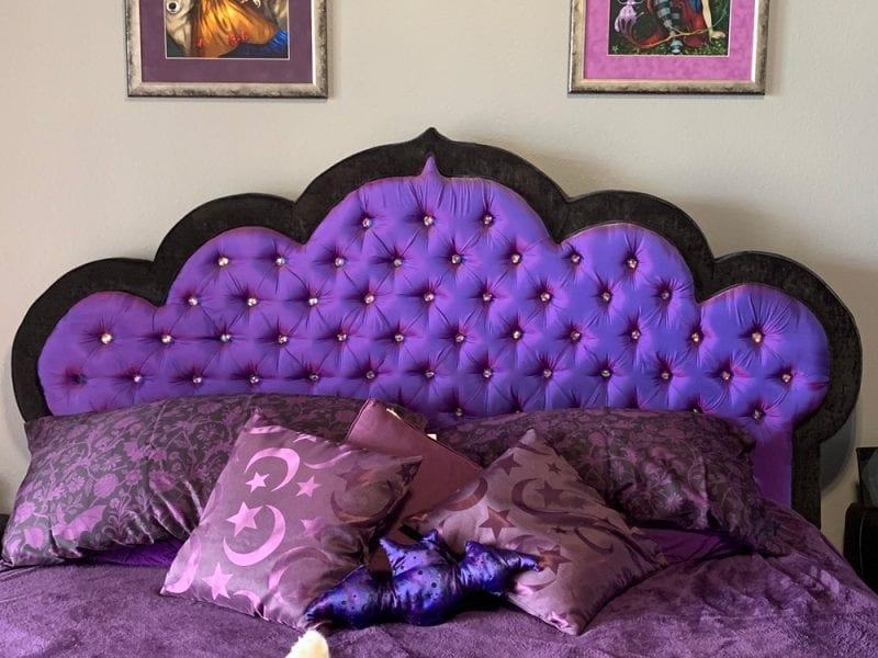 Gothic Tufted King Bed