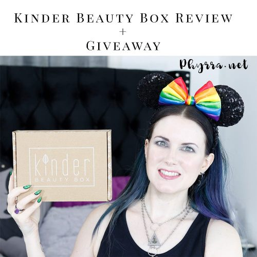 Kinder Beauty Box Unboxing + Giveaway