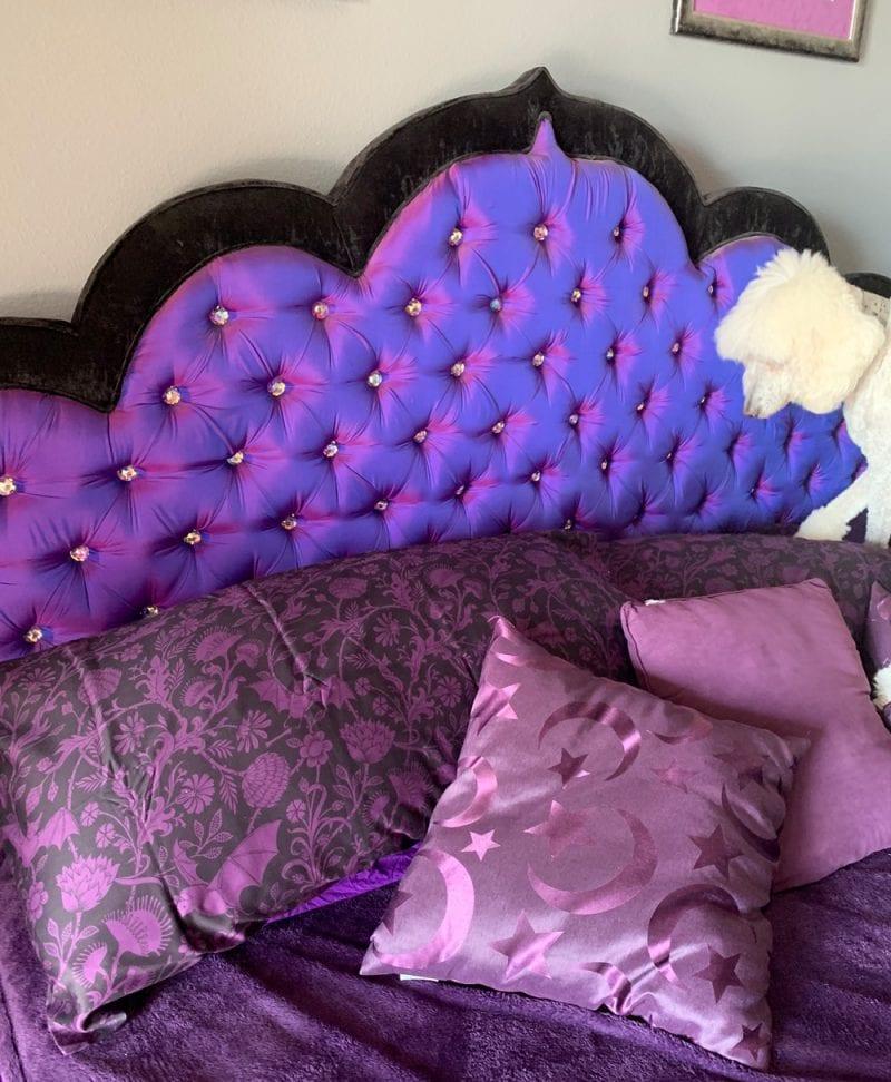 Sin in Linen Elysian Fields Purple Sheets