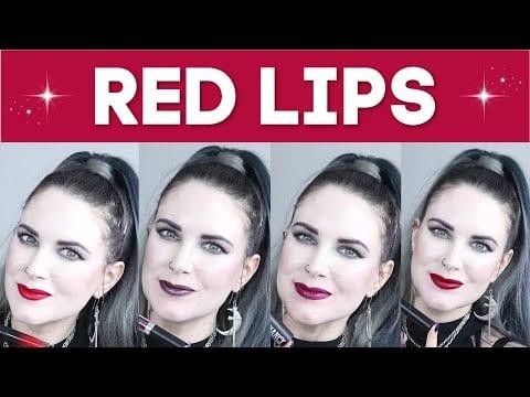 The Best Red Lipsticks for Fair Skin