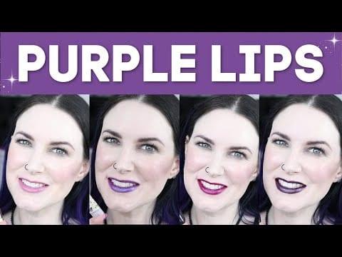 Pretty Purple Lipsticks