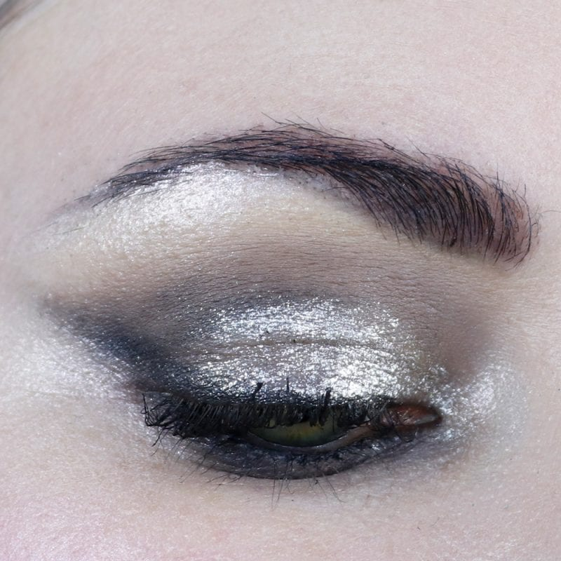 Glam Goth Makeup Look
