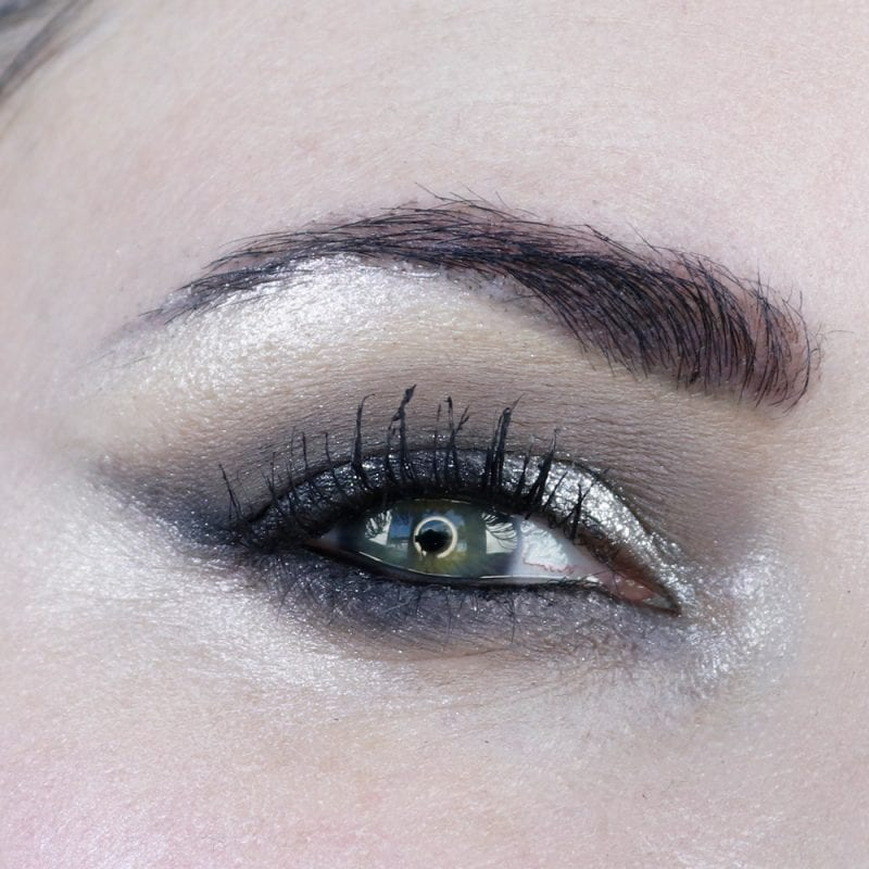 Glam Goth Makeup Look