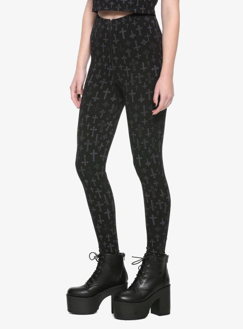 The Craft Cross O-Ring High-Waisted Leggings
