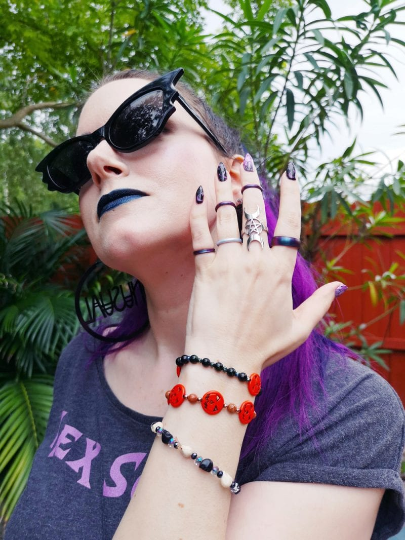 Gothic Rings and Bracelets