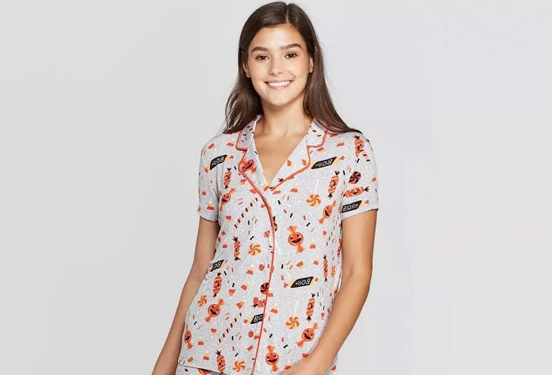 Halloween Candy Pajamas for Women