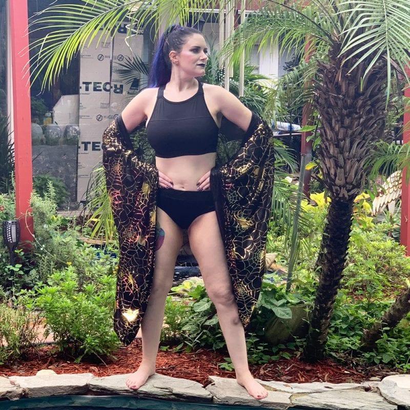 Sporty Gothic Bikini