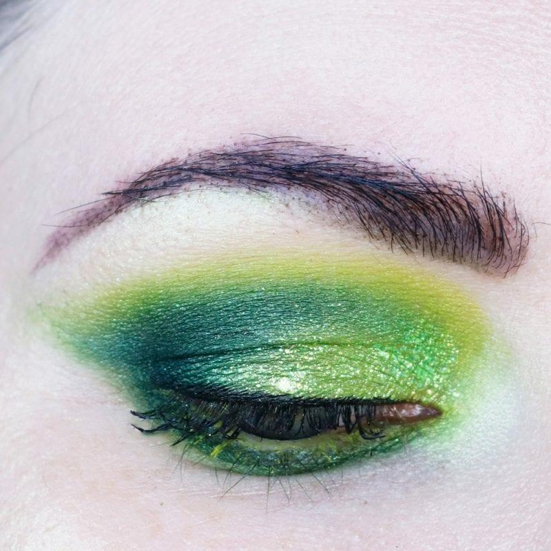 Medusa Costume Makeup