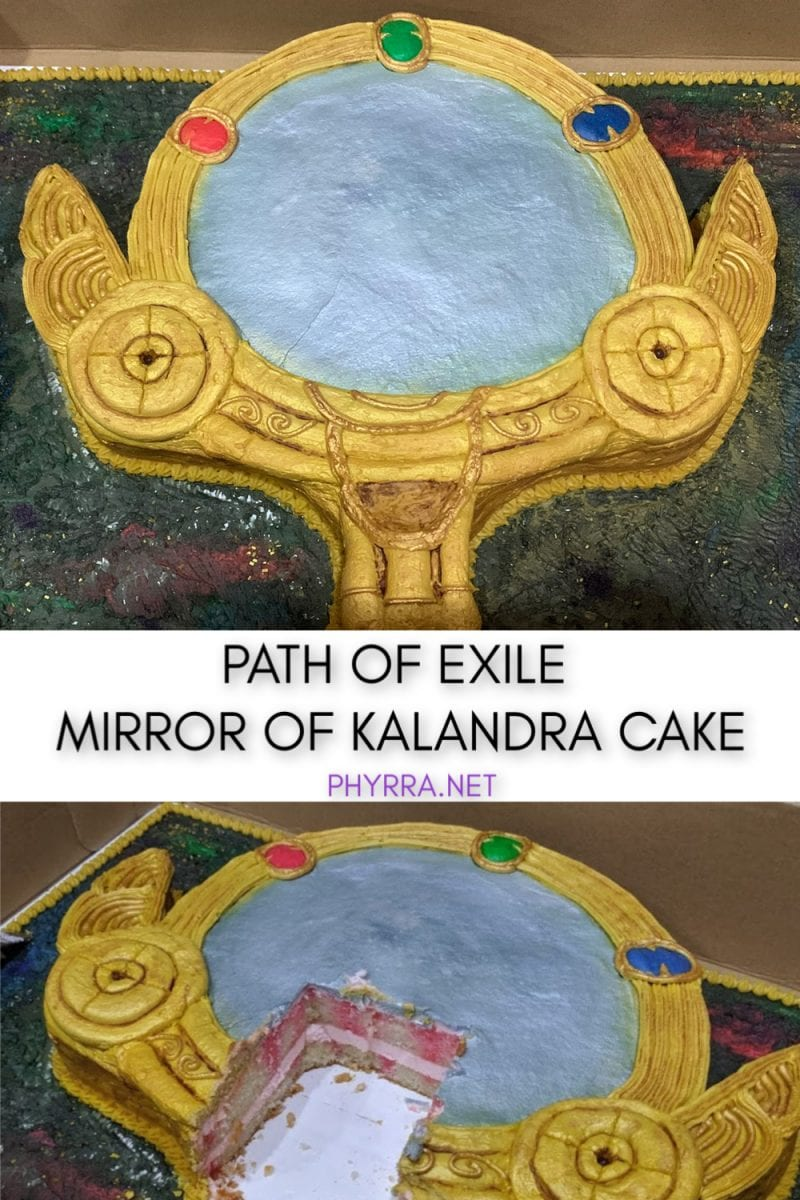 Custom Cake Creations in Tampa: Path of Exile Mirror of Kalandra