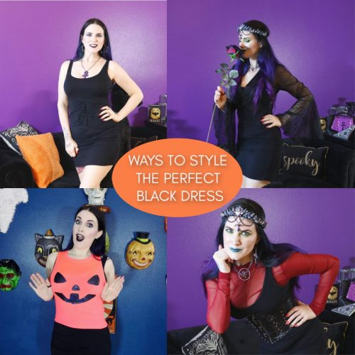Black Dress: Ways to Style the Marsté Santiago Ruched Mini Dress