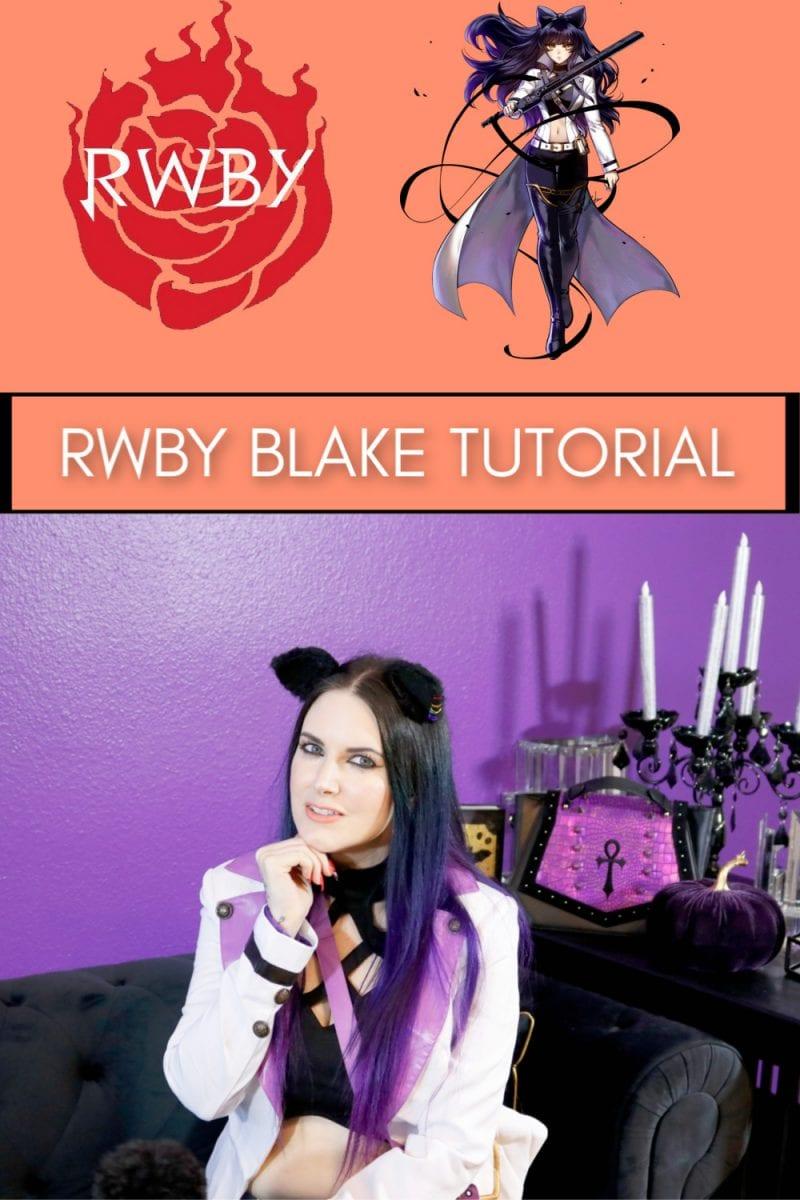 RWBY Blake Costume Tutorial