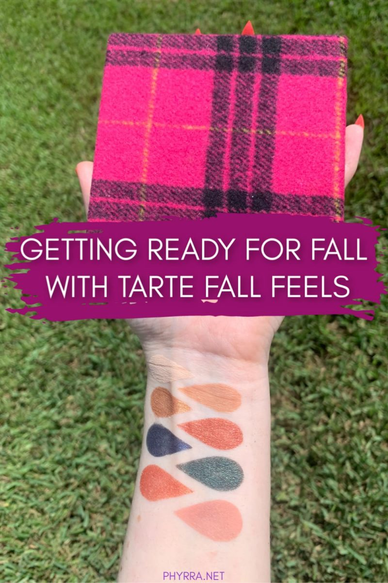 Getting Ready for Fall with the Tarte Fall Feels Palette
