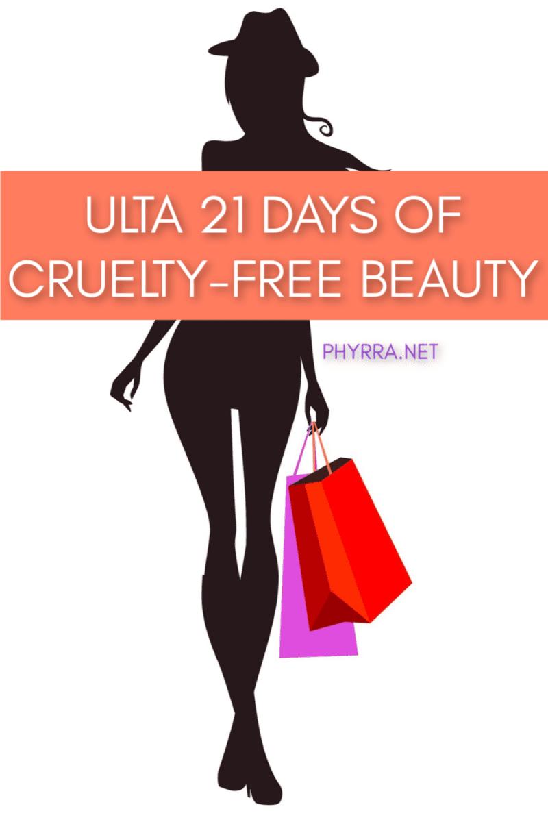 Ulta 21 Days of Cruelty-free Beauty 2019