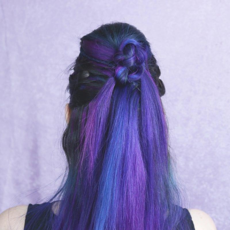 Easy Viking Twists Hairstyle Tutorial