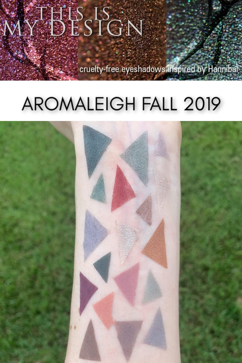 Aromaleigh Fall 2019 Swatches