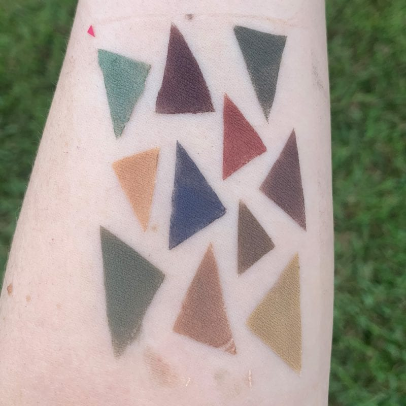 Aromaleigh Fall 2019 Eyeshadow Swatches