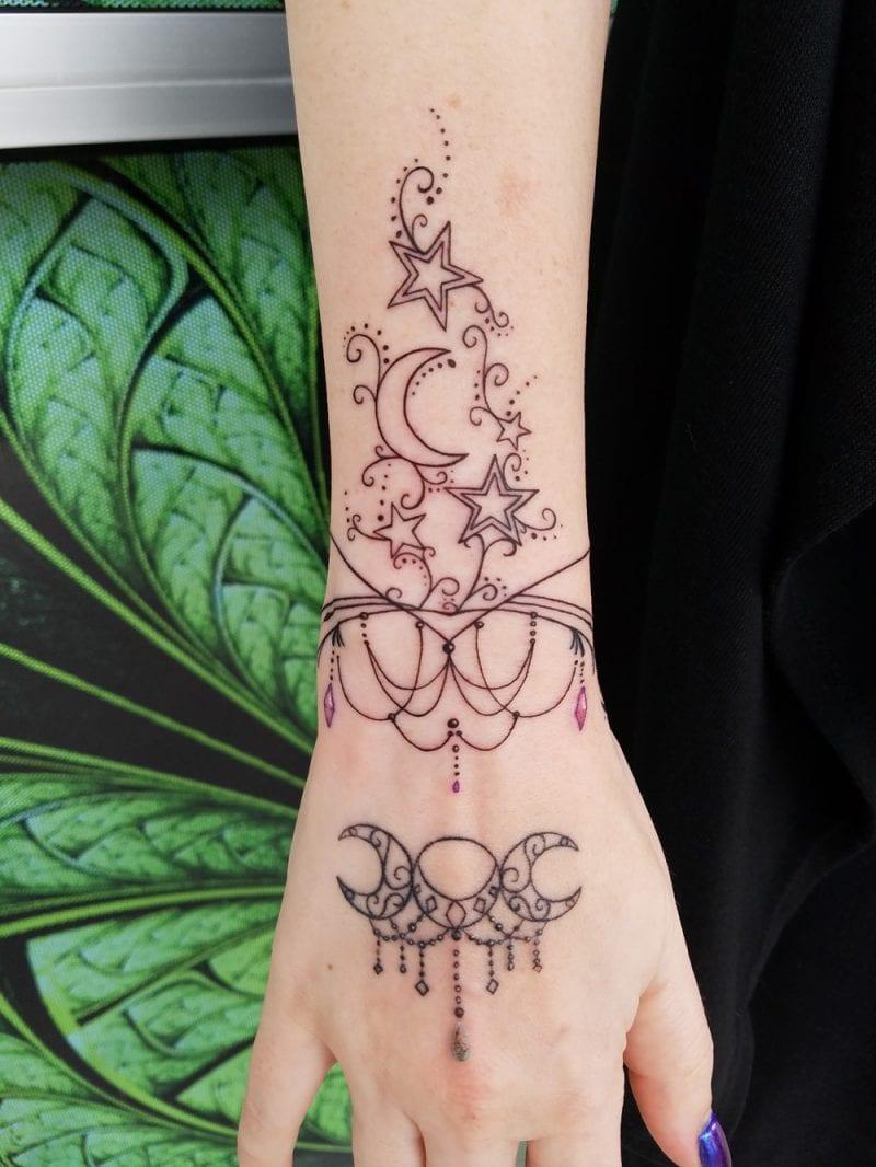 Henna Tattoo Wrist Softball: Bat Tattoo: Symbolism & More! I Share All Of My Tattoos
