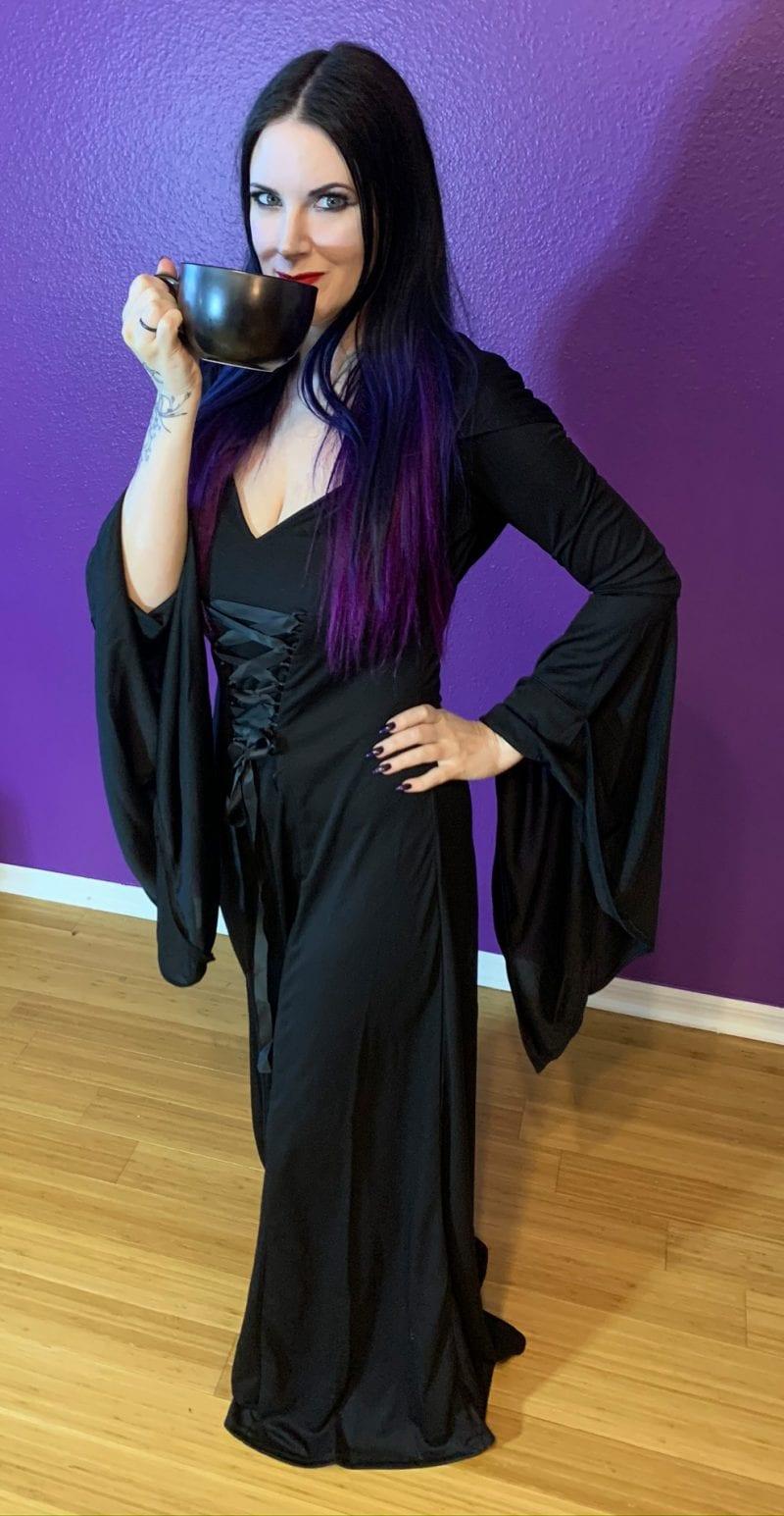 Morticia Addams Cosplay