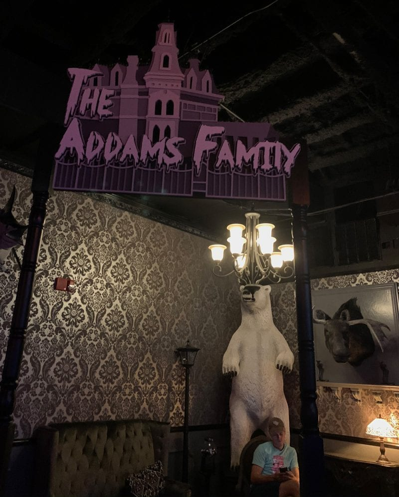 The Addams Family Nook