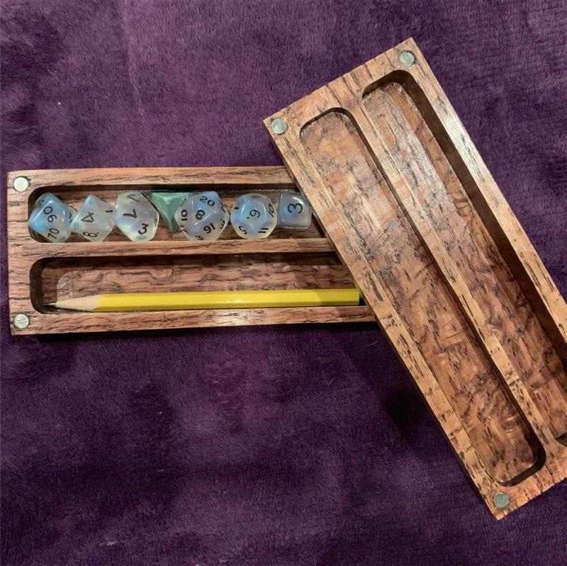 Monk and Scholar Dice Box
