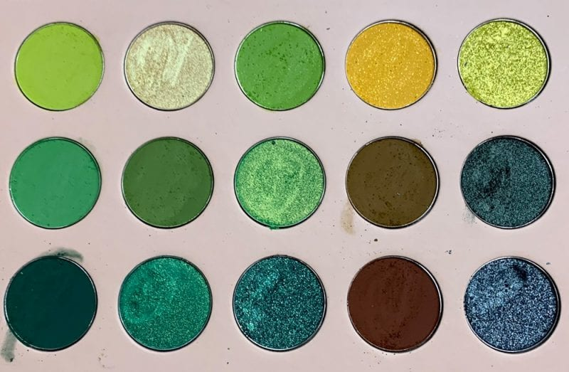 Emerald Moon Palette