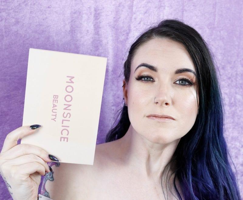 Moonslice Beauty Moonshake Peachy Nude Makeup Look