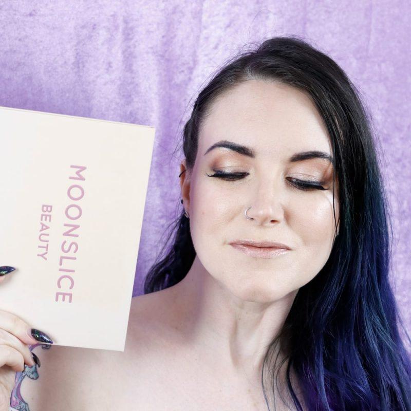 Moonslice Beauty Moonshake Palette Look