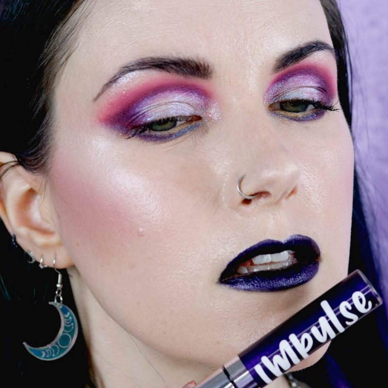 Courtney is wearing Impulse Witchful Thinking lipstick
