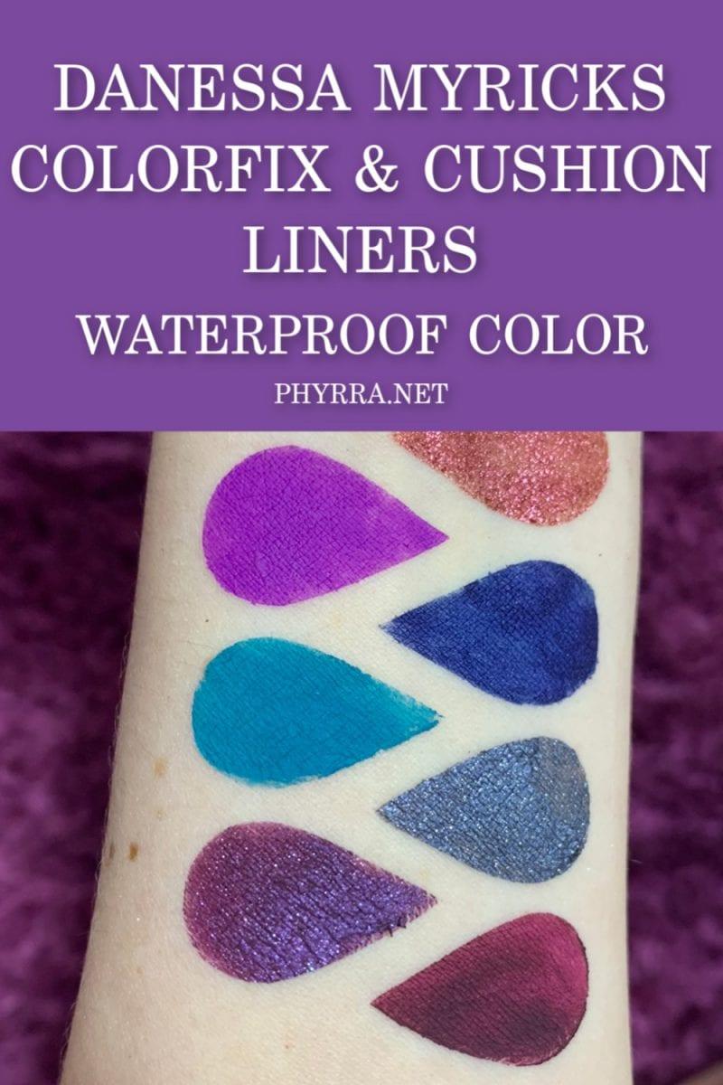 Danessa Myricks ColorFix and Cushion Liners