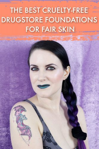 The Best Cruelty-Free Drugstore Foundations for Fair Skin