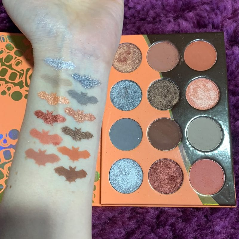 Juvia's Place Nubian 3 Coral Palette swatches