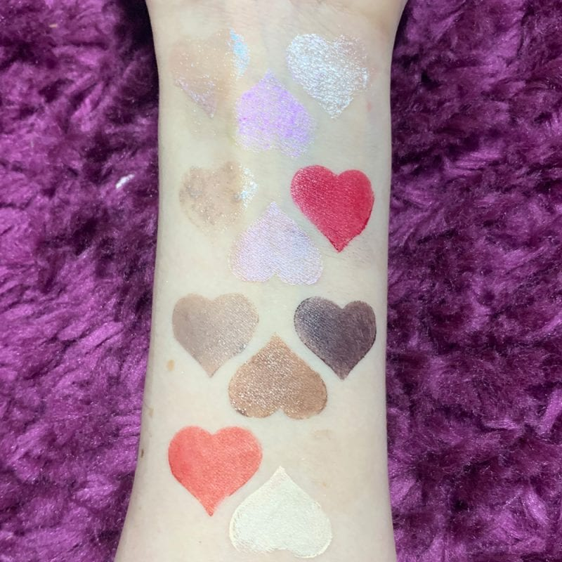 Rituel de Fille Inner Glow Creme Pigments Swatches