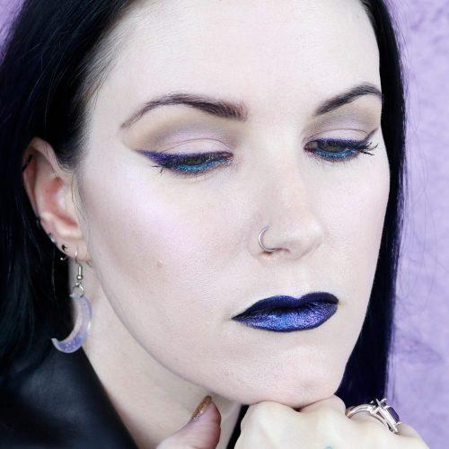 Duochrome Makeup Look