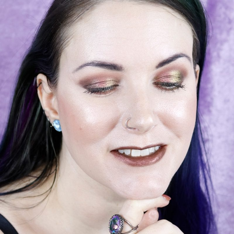 Multichrome Makeup Look
