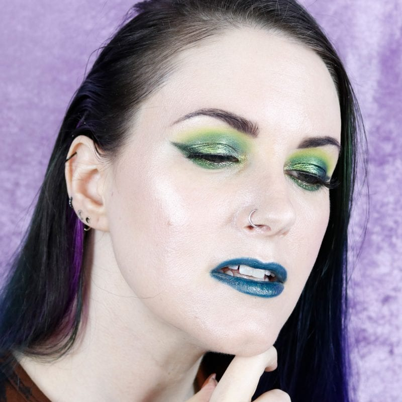 Courtney is wearing JD Glow See Weed and 365 eyeshadows