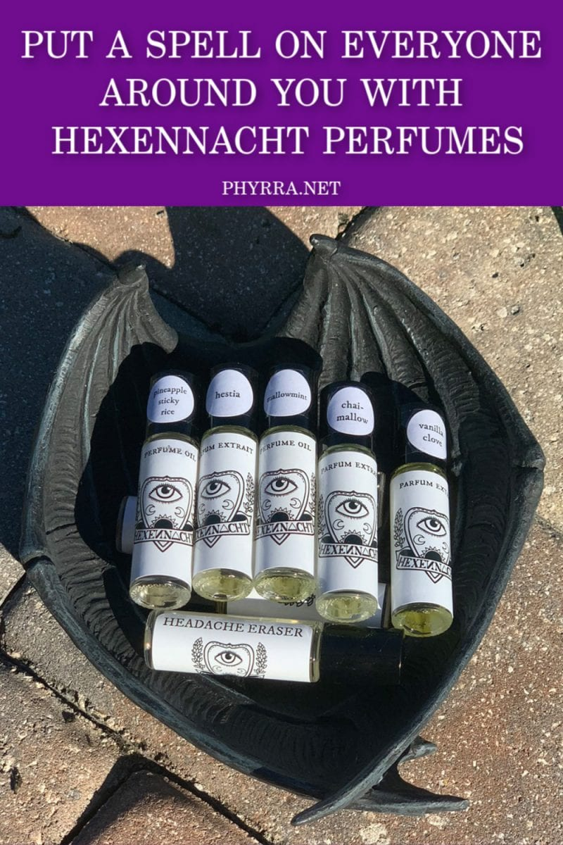 Put a Spell on Everyone Around You with Hexennacht Perfumes