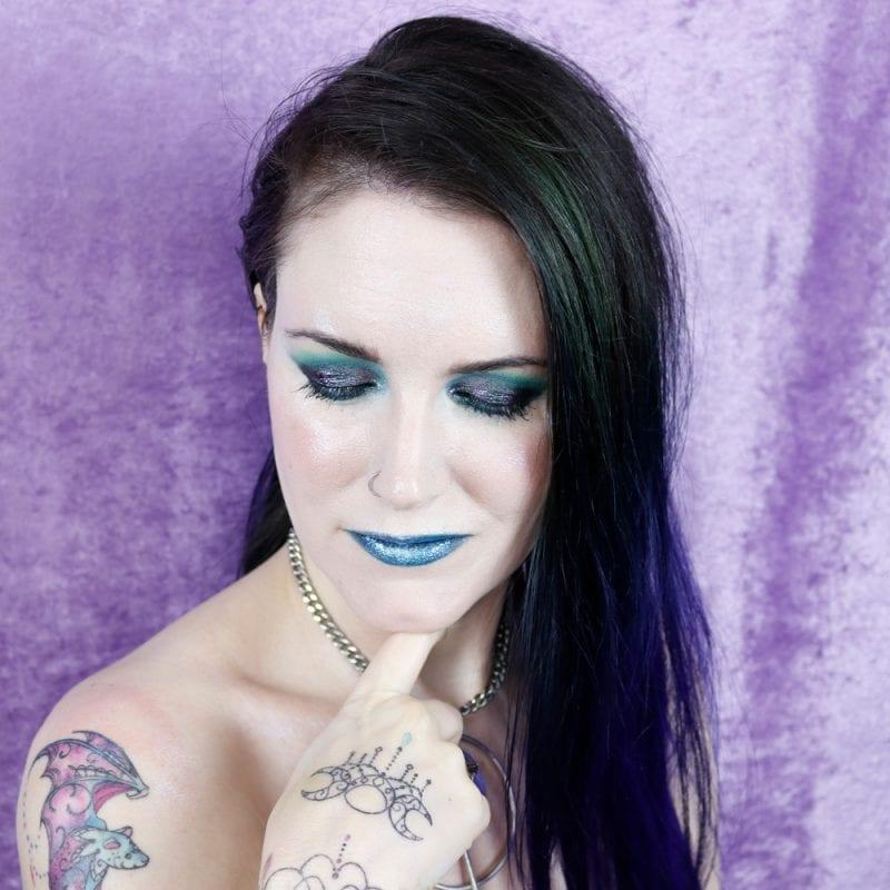 Tattooed Goth Witch