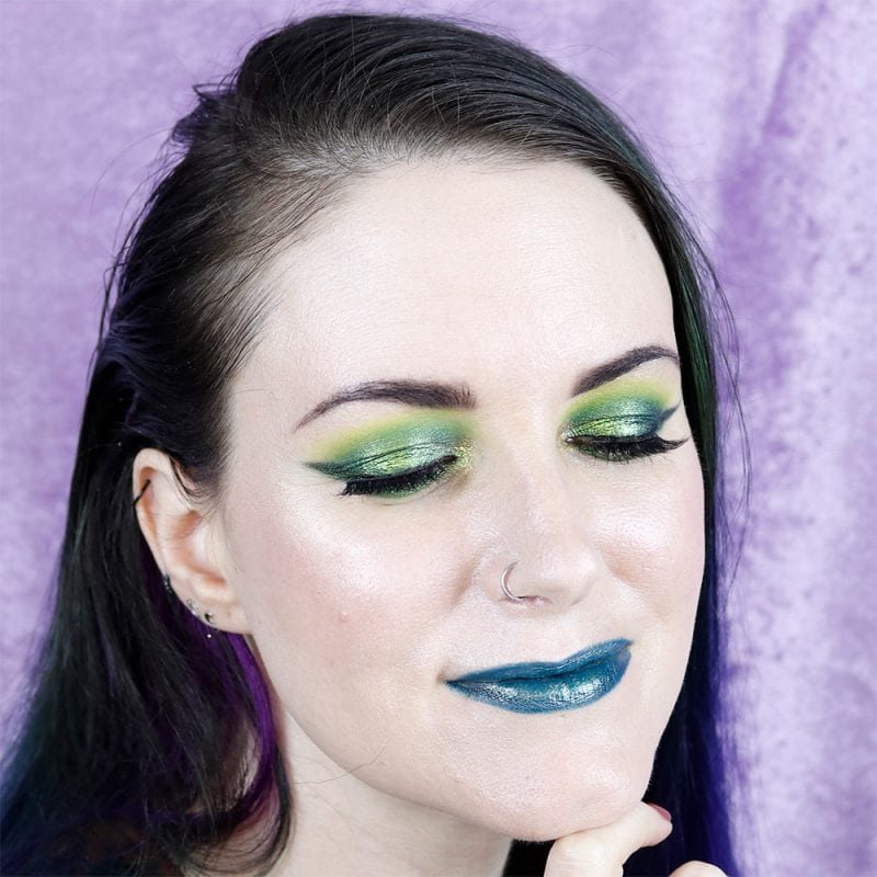 Duochrome Smoked Out Winged Liner Tutorial for Hooded Eyes