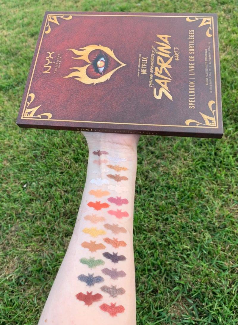 Nyx Chilling Adventures of Sabrina Spellbook Palette