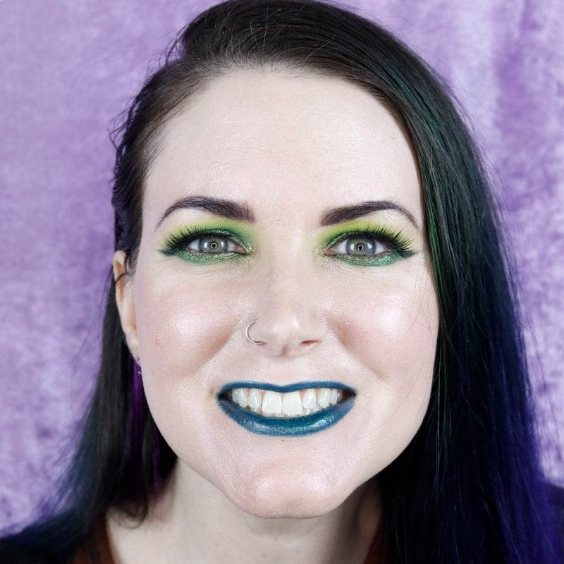 Courtney is wearing Melt Latex pencil with Sugarpill Hydro lipstick