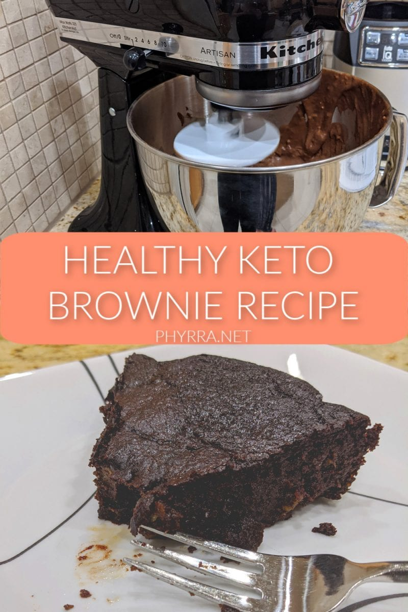 Healthy Keto Brownie Recipe
