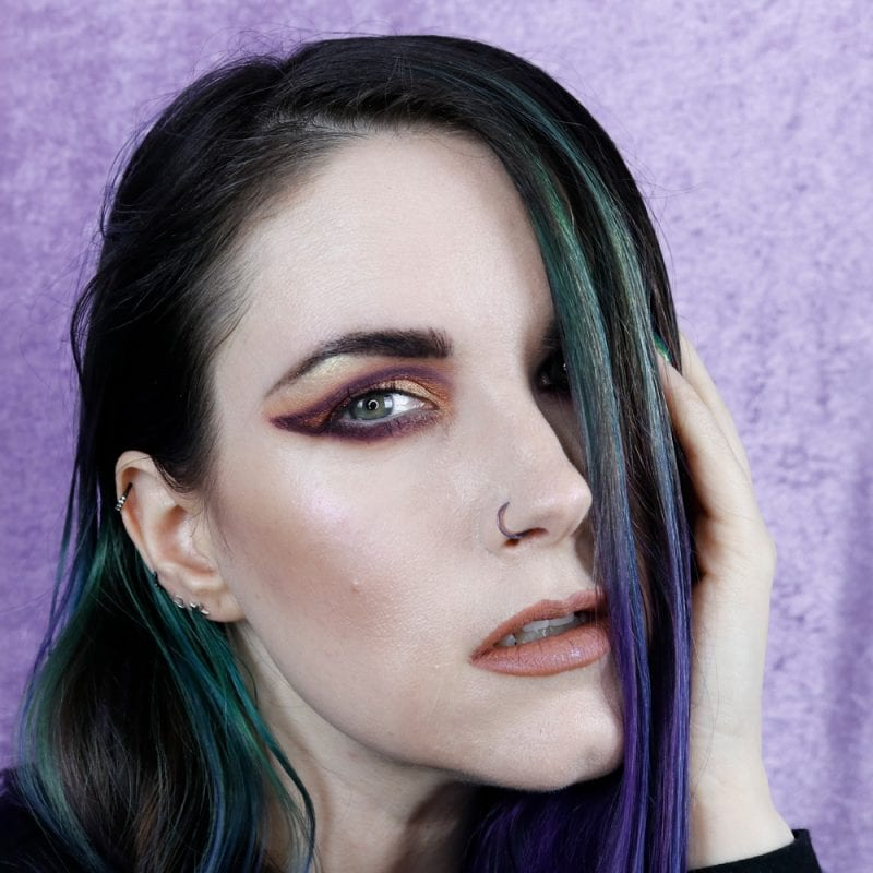 Lime Crime Prelude Chroma Nymph Tutorial