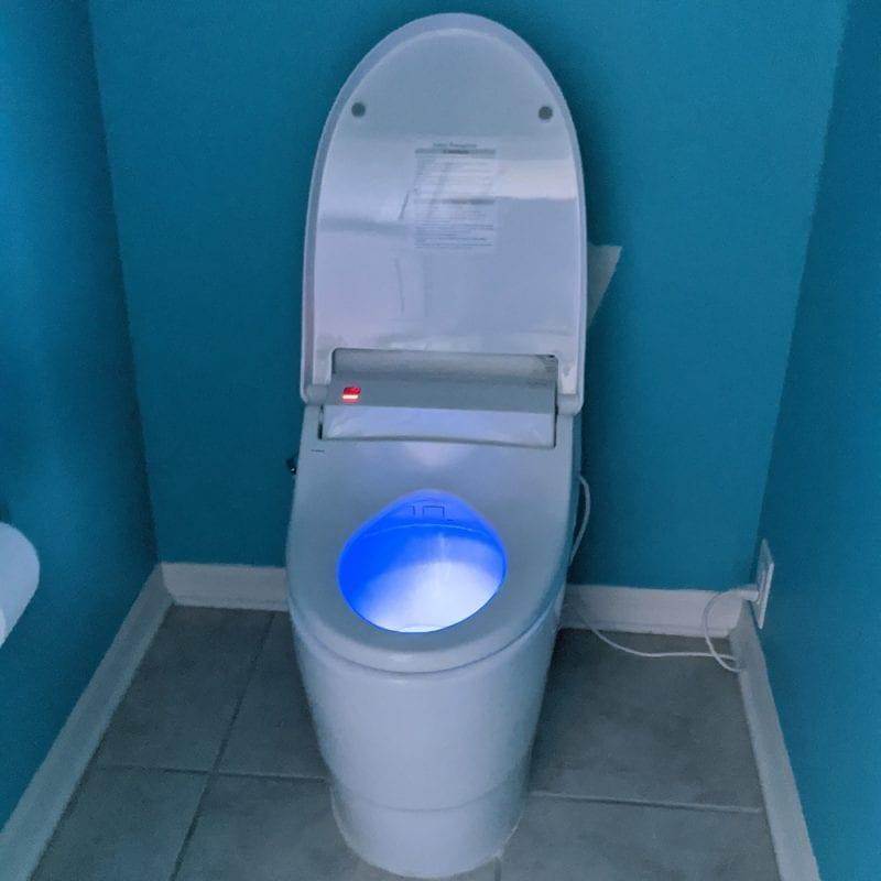 Bidet Toilet Night Light